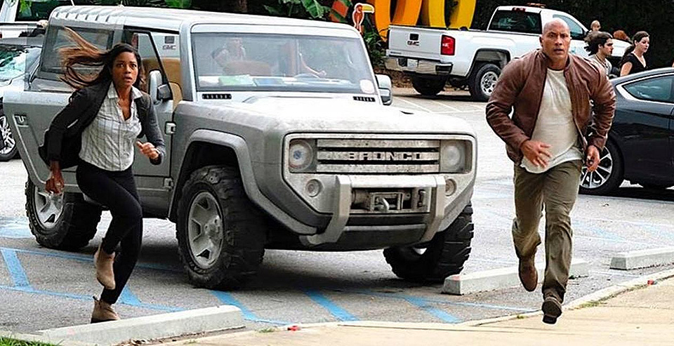 Ford Bronco Concept   MovieCars