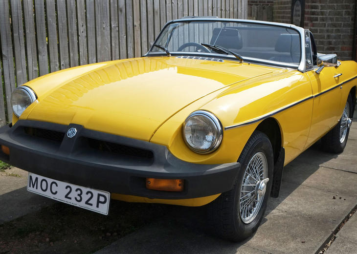 MGB Drophead Sports (1974)